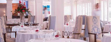 OCEAN RESTAURANT, THE ATLANTIC HOTEL JERSEY, JERSEY, WE LOVE FOOD, IT'S ALL WE EAT