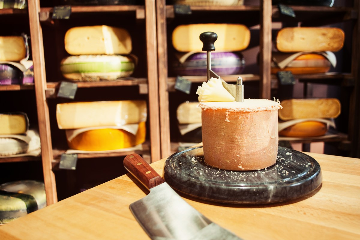 A Giant Immersive Cheese Board Has Landed In Greenwich In Time For Christmas