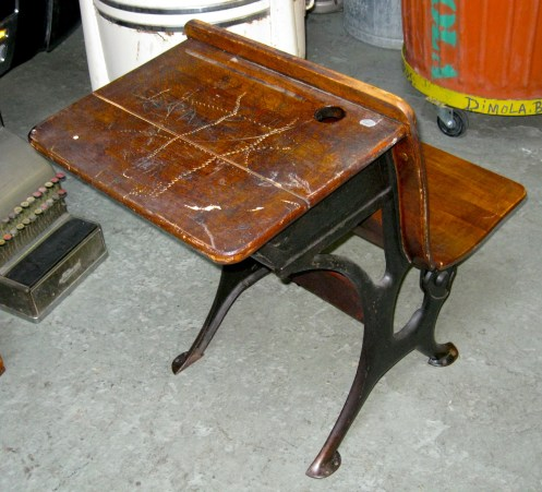 THE PERFECT FIT DiMola Bros Finds 1920s Desk For Inkwell
