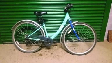 One 5 year old bike...