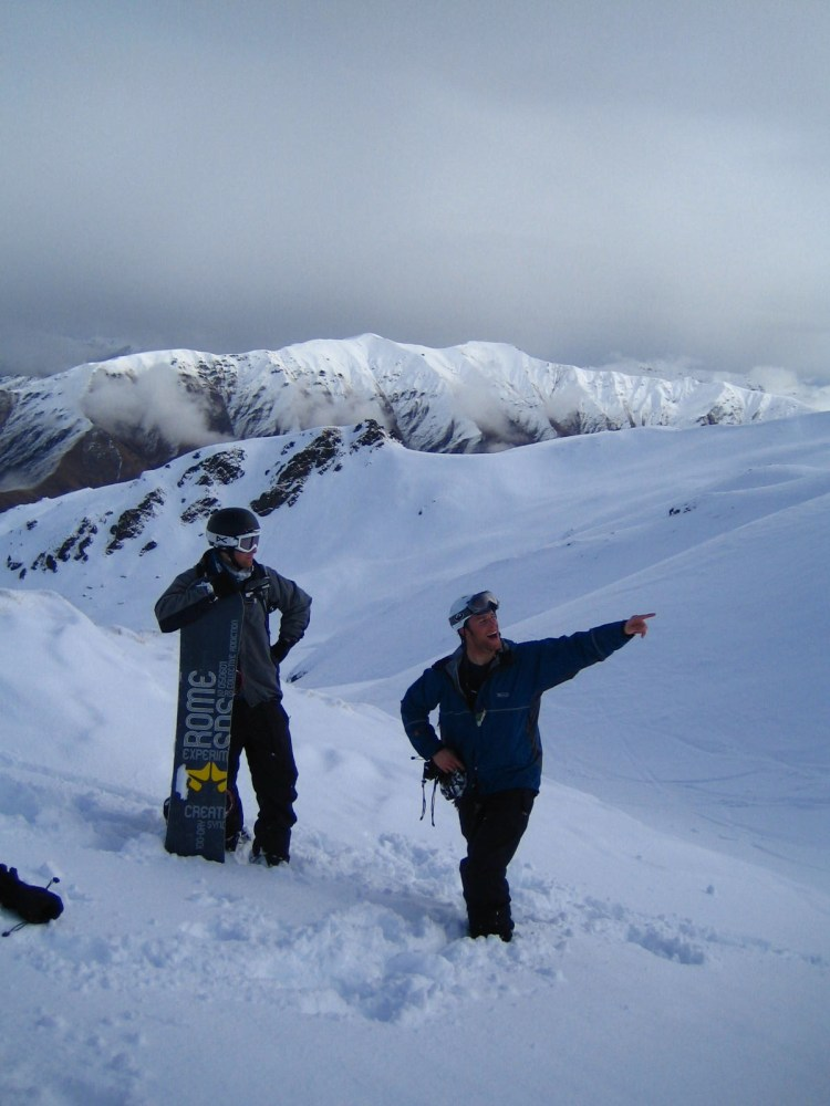 Cardrona back country - Catalogue shot  for the sponsors.