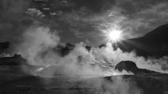 The worlds highest thermal geysers