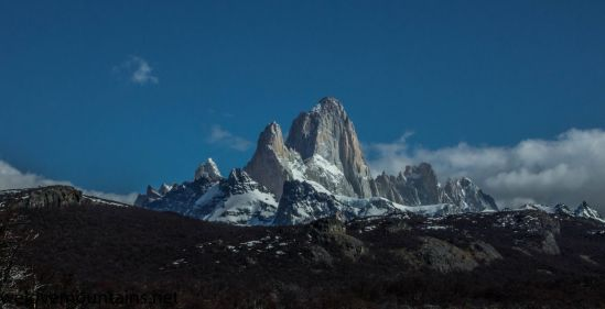 Mt Fitzroy on our return from southern patagonian icefield