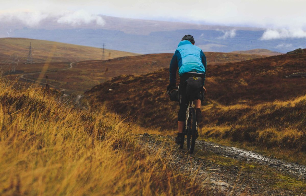 Autumn colours, rain and grit - Riding across Scotland