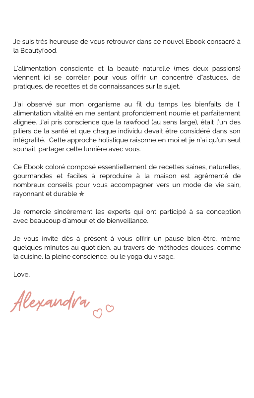 E-BOOK WELOVERAW N°2 - BeautyFood