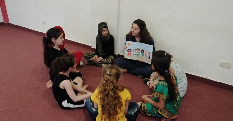 Dina Almawed from Ein Alhelweh camp/ Lebanon