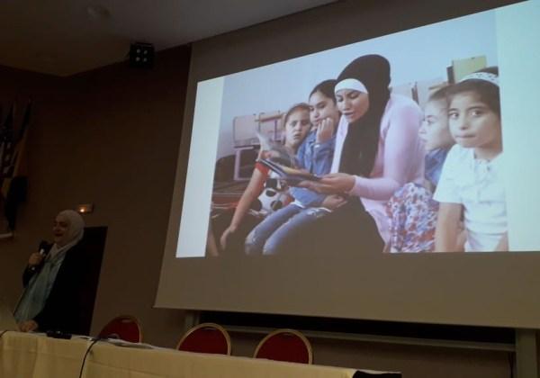 محاضرات الدكتورة رنا في المغرب
