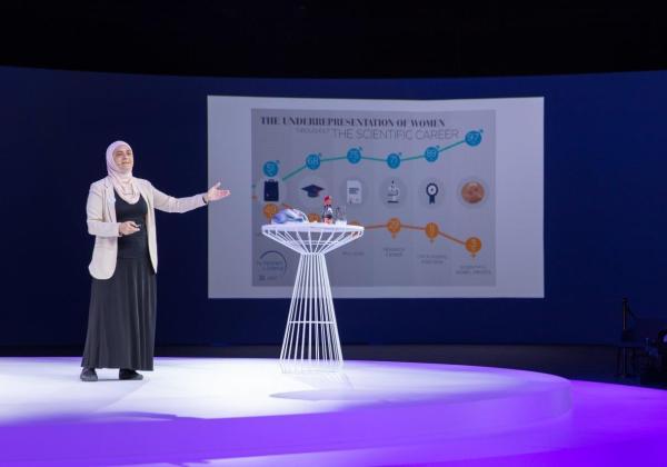 """مشاركة د. رنا الدجاني في جلسات """"صُنّاع التأثير"""" التي عقدت بمنتدى المرأة العالمي – دبي 2020،"""