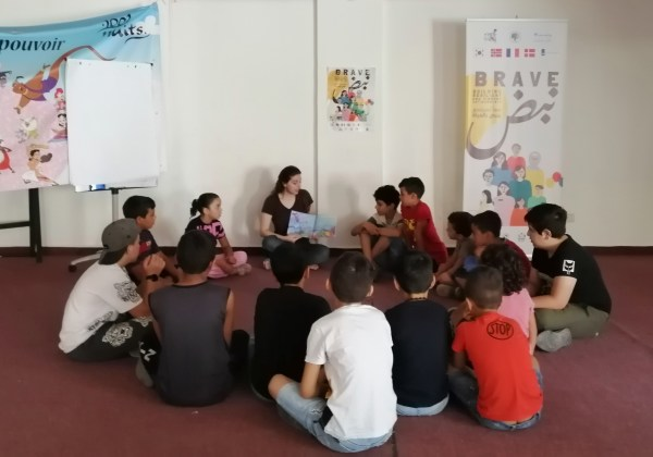"""Respectively, the Third Session for the Reading Ambassador """"Dina Al-Maw'ed"""" in Lebanon during September"""