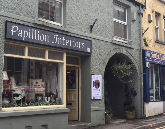 Llandeilo papillion interiors