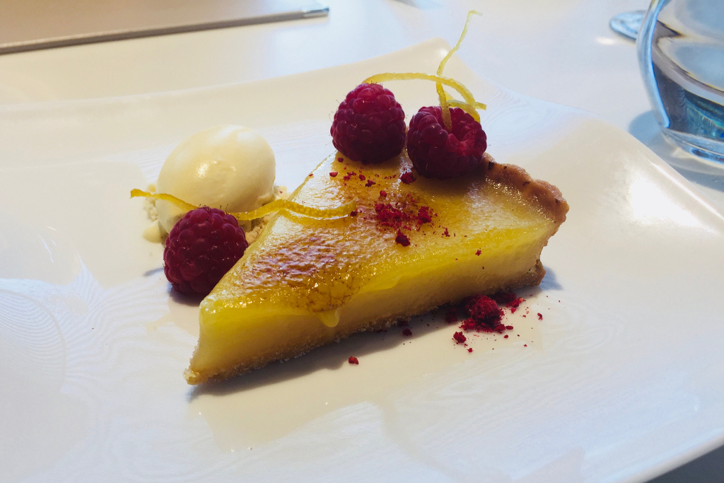 Eaves Restaurant Bridgend - cheesecake