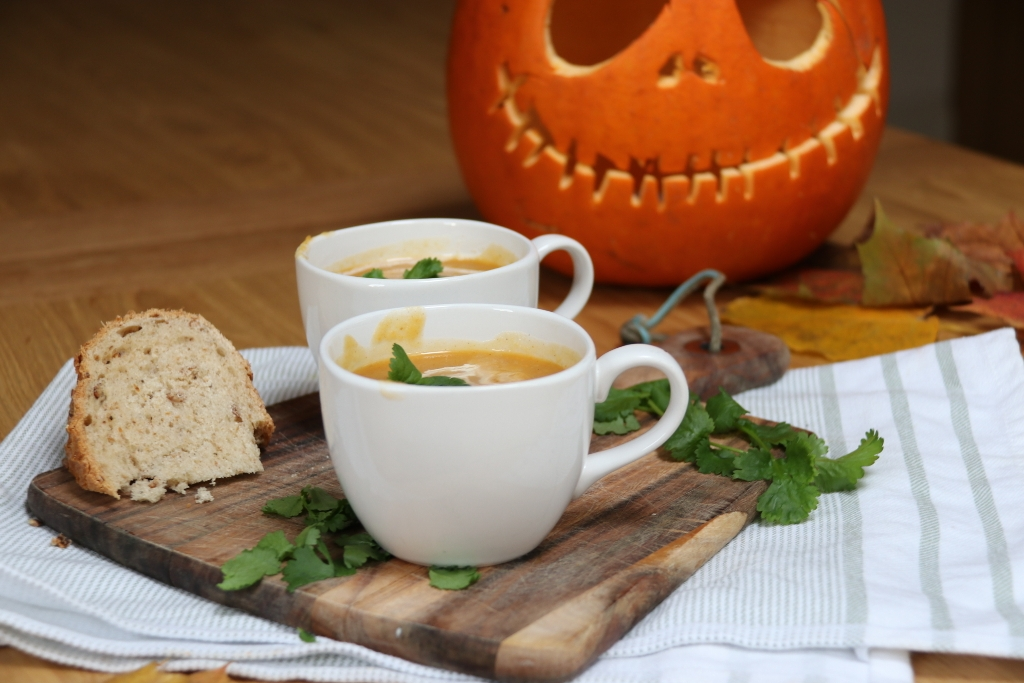 Pumpkin and Sweet Potato Soup Recipe