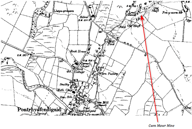 2nd Ed 6 inch OS Map. People's Collection Wales.