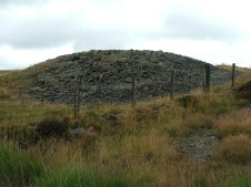 Shaft to the east of the minor road from Llanddewi Brefi to Ffarmers.