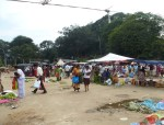 The end of a market in Kandy