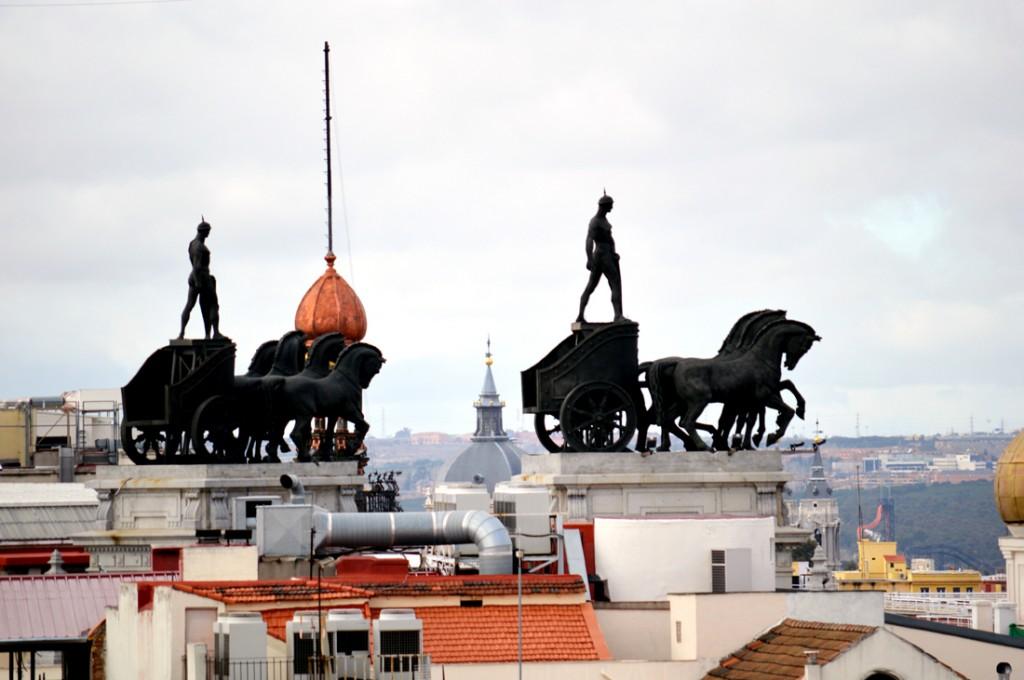 Madrid Stadtansichten