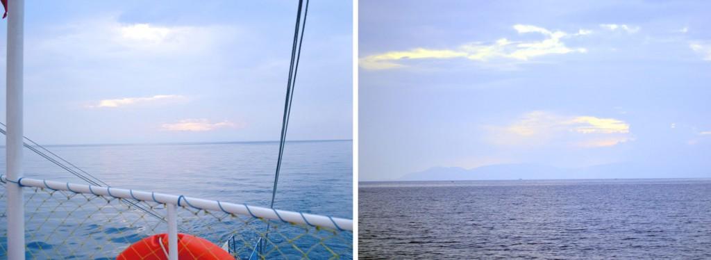 Kusadasi Blick auf Samos