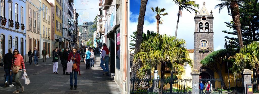 Straße La Laguna