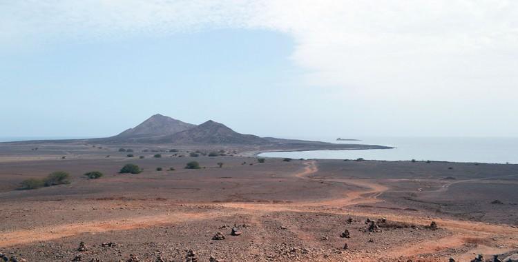 Weite Landschaft Insel Sal