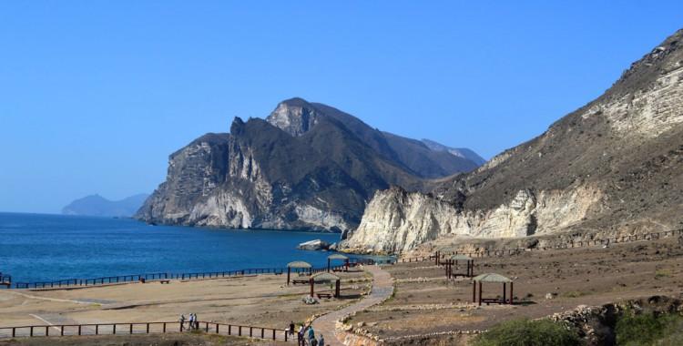 Küstenstreifen des Dhofar