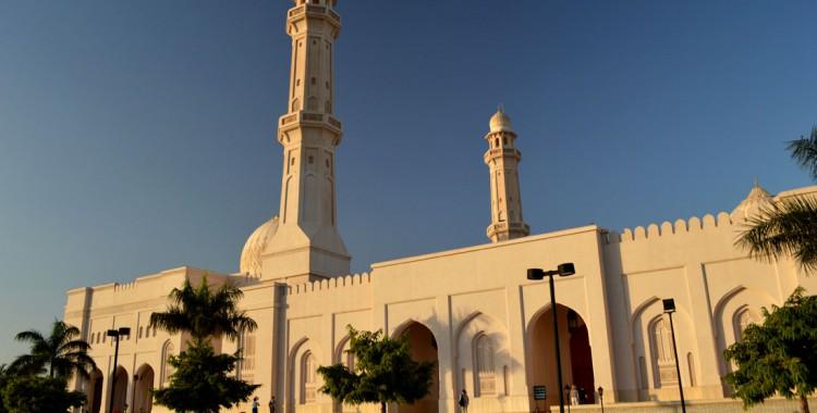 Sultan Qaboos Moschee in Salalah