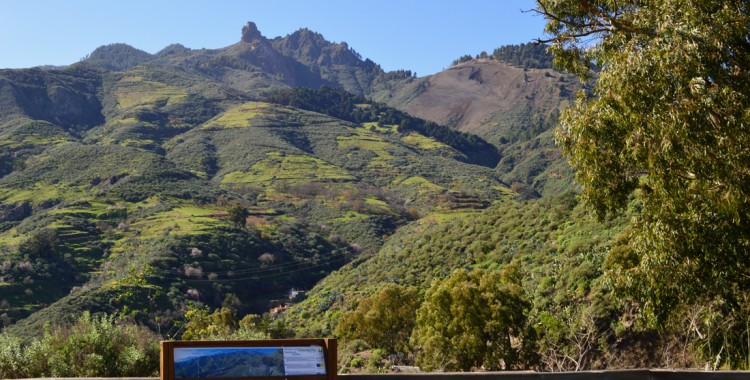 Bergpanorama Gran Canaria