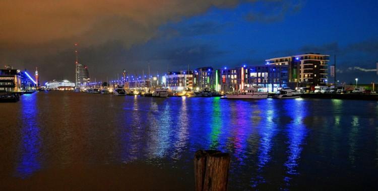Bremerhaven by night