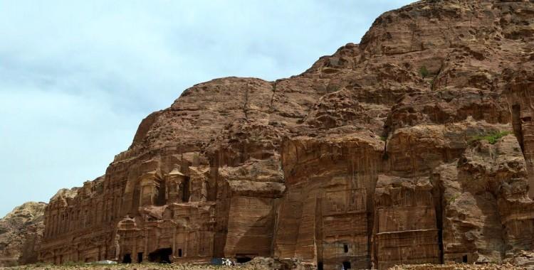 Petra südliche Ruinen