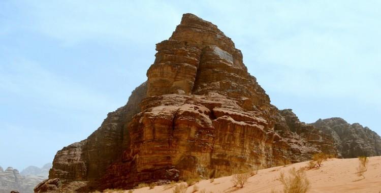 Wadi Rum Felsen