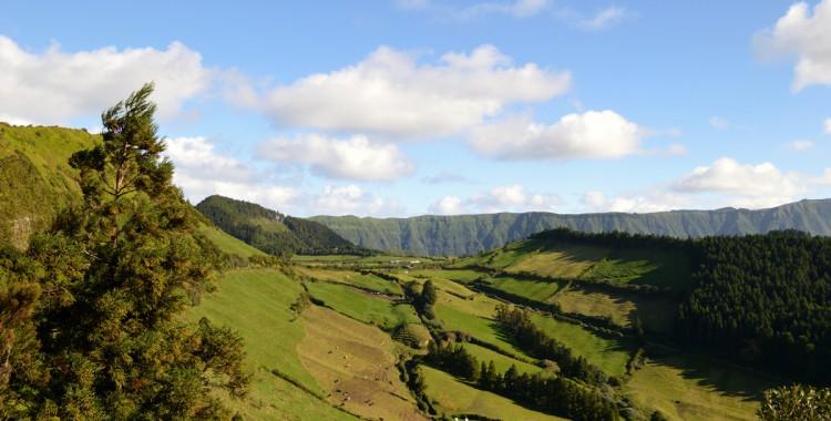 Azoren zentrale Bergkette