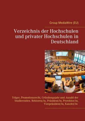 Verzeichnis der Hochschulen und privater Hochschulen in Deutschland