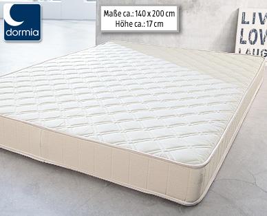 Dormia Supercomfort 140 Qualitäts Matratze Im Angebot Bei Aldi Süd [KW 51  Ab 21.12