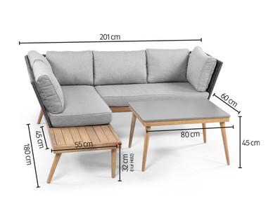Lounge Set Rope Mit Mittelteil Im Angebot Bei Hofer 7 5 2020 Kw 19