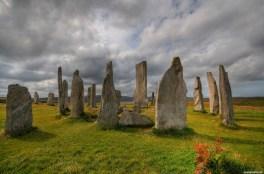 DSF_6324_2_3_Schottland Isle of Lewis Callanish Callanish standing Stones Steinkreis Megalith