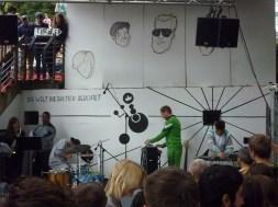 Viktor und Felice (Sound Orchestra). 13.07.2014, Pudel Garden X