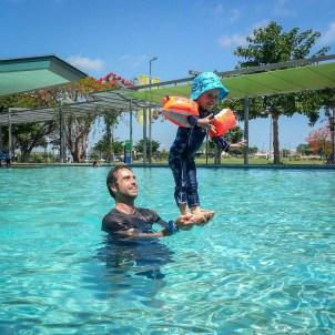 Water acrobats