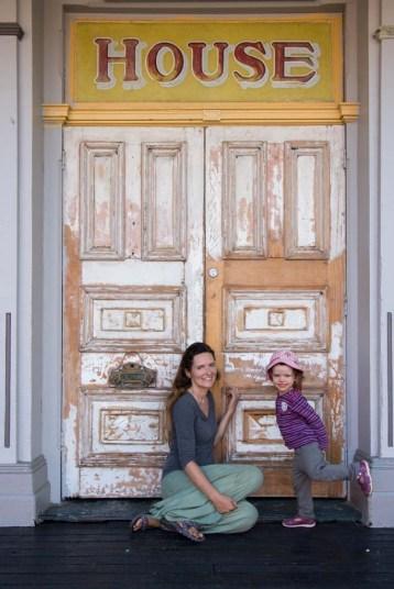 A historic door in Maryborough