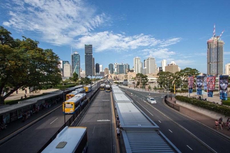 Brisbane at Rushhour