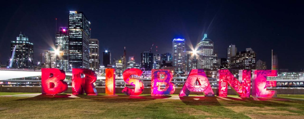A colourful city