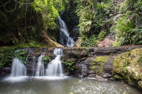 The Elabana waterfalls