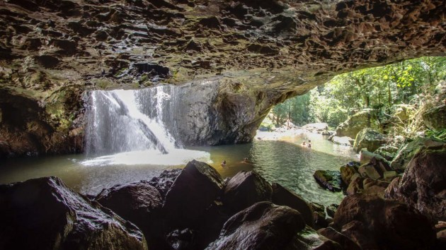 The Natural Bridge from inside