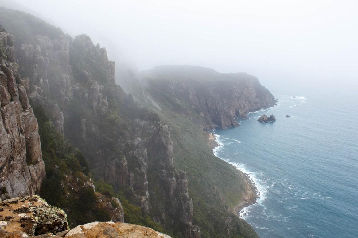 Mystic landscape at Cape Raoul
