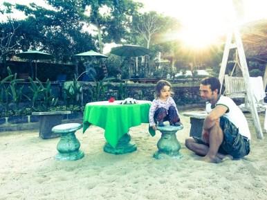 Dinner at the beach