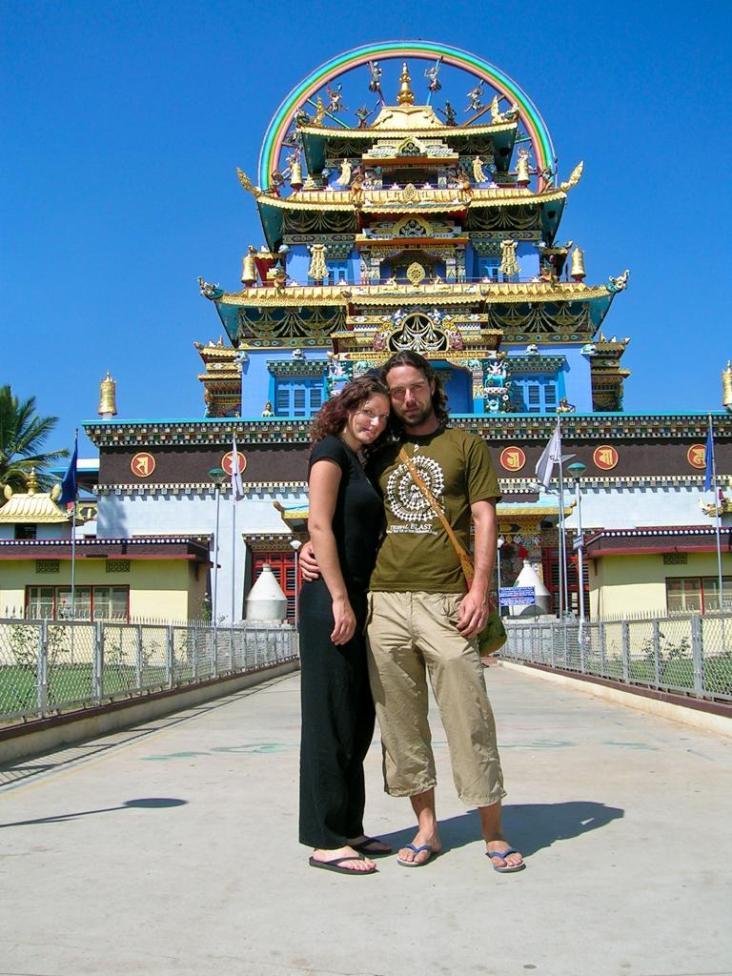Goldener Tempel in Bylakuppe