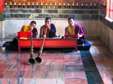 Tibetisches Horn (Dungchen)