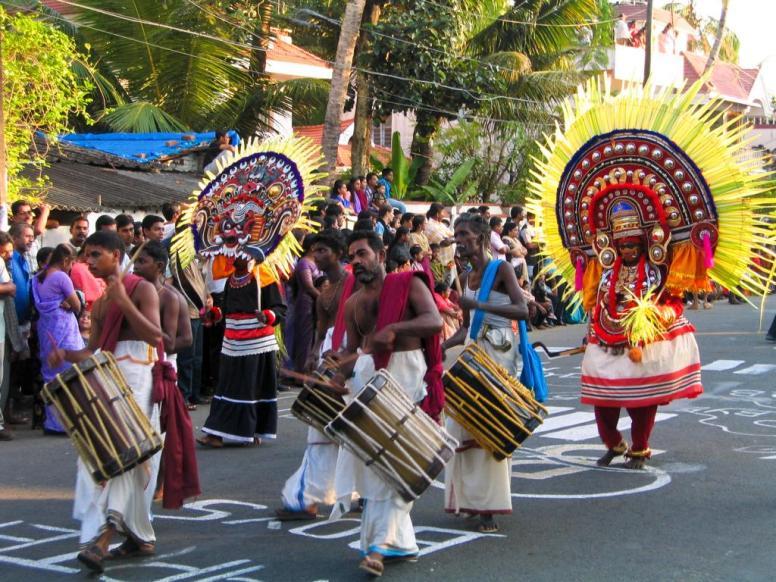 Neujahrsfest in Kochi