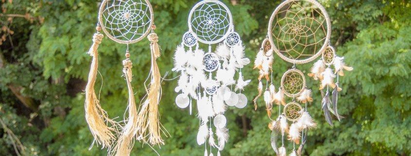 indianische Dreamcatcher & Traumfänger