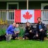 Meghan, Nicholas & Lincoln hosten uns in canadischer Kälte und Regen. Was ein Segen, hier nicht zelten zu müssen...