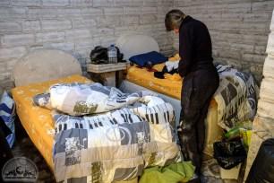 Im Salzhotel am Salar de Uyuni sind Wände, Tische und sogar Betten aus Salzblöcken geformt.