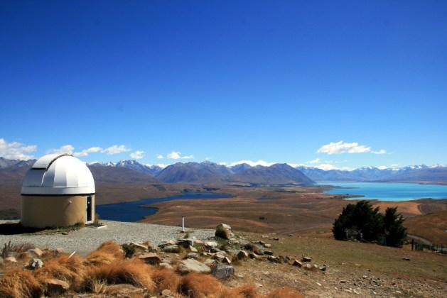 Lake tekapo, Mount John